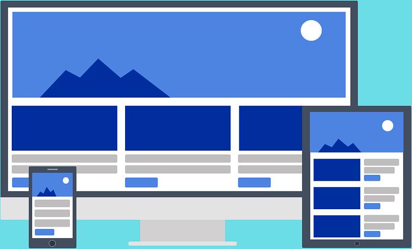 site web en responsive design